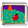 Autumn Fall Apple Charm Photo Italian Charm