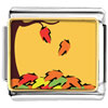 Fallen Autumn Leaves Charm Photo Italian Charm