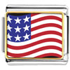 Usa Flag Photo Charm Photo Italian Charm