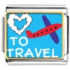 Love To Travel Photo Charm Photo Italian Charm