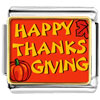 Happy Thanksgiving Photo Charm Photo Italian Charm