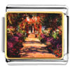 Monet&#039;S Garden Painting Charm Photo Italian Charm