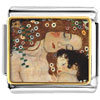 Mom And Baby Painting Charm Photo Italian Charm