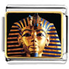 Gold Plated Egyptian Mummy Tutankhamen Photo Italian Charm