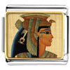 Gold Plated Egyptian Queen Cleopatra Photo Italian Charm