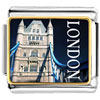 Gold Plated Landmark London Photo Italian Charm Bracelets