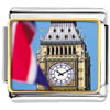 Gold Plated Landmark Big Ben Photo Italian Charm Bracelets