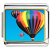 Hot Air Balloons Charm Photo Italian Charm