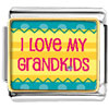 I Love My Grandkids Photo Charm Photo Italian Charm