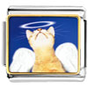 Angel Cat Charm Photo Italian Charm