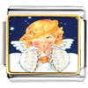 Angel With Drooping Halo Charm Photo Italian Charm