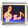 Music Note Photo Charm Photo Italian Charm