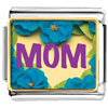 Flower Mom Charm Photo Italian Charm