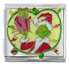 Mega Grinch Stealing Gifts Christmas Licensed Italian Charm